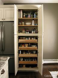 antique white kitchen storage cabinet pantry featuring springfield maple antique white cabinets