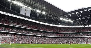 tottenham wembley seating plan away fans tottenham attempting to stop liverpool fans from buying home end