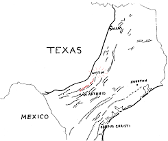 Texas Map Picture Guidebook To The Geology Of Travis County