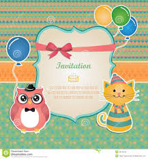 many stock birthday party invitation card vector creation birthday party invitation card design stock images image 36122134