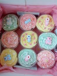 baby cupcakes unique treats pinterest baby