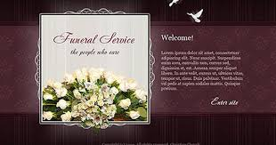 Funeral Pamphlet Ideas Funeral Powerpoint Templates Funeral Service Flash Website