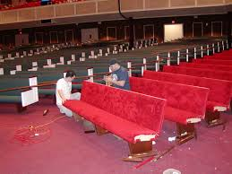 Upholstery Jobs Church Pew Upholstery Woods Church Interiors