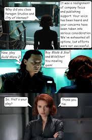Black Widow Meme - savecoh black widow and loki discuss by todogut on deviantart