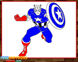 captain america coloring pages printable captain america