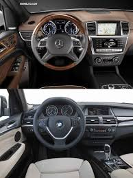 bmw x5 inside photo comparison 2012 mercedes benz ml vs bmw x5