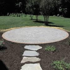 Round Patio Pavers by Paver Patios U0026 Walkways Richmond Va Cross Creek Nursery