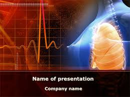 powerpoint design lungs feminine lungs and breast powerpoint template backgrounds 09701