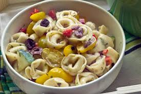 tortellini pasta salad food fanatic