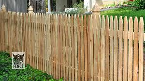 wood picket fence installation decorative viking fence of atlanta
