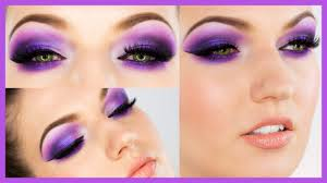 ultra violet smokey eye makeup youtube