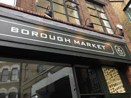 borough market sign business casual exploring london splendor in just 6 hours