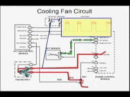 electric cooling fan wiring diagram youtube youtube