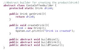 builder pattern in java 8 java latte builder design pattern in java