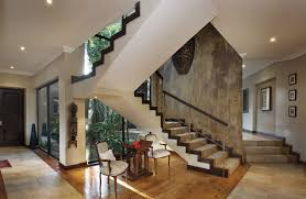 concrete staircase design ideas staircase modern with metal