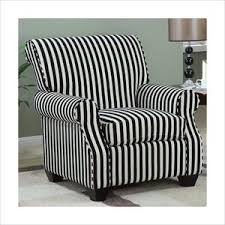 Black And White Striped Accent Chair The White Fuzzy Chair On The Hunt