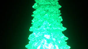 led christmas tree light with glitter effect by snow white youtube
