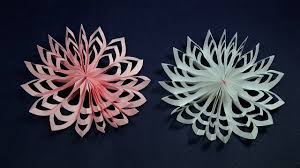 paper snowflakes christmas craft how to make paper snowflakes
