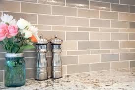 Tile Kitchens - heather grey subway tile kitchen mercury mosaics