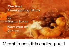 the real thanksgiving story by susan bates narrated by jerilyn meant