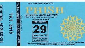 Phish Bathtub Gin Chords by Kid Rock Guests With Phish In Las Vegas In 2000