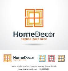 home decor logo template design vector stock vector 353965799