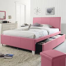 Pink Bed Frames Trundle Bed Set Affordable Bedroom Bedroom Sets