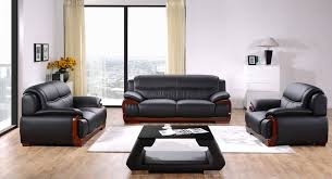 Sofa Casa Leather Divani Casa C83 Modern Black Bonded Leather Sofa Set Special