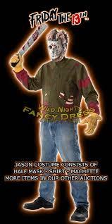 Halloween Costumes Jason Jason Voorhees Friday 13th Halloween Costume Xl Xxl