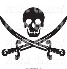 pirate skull clipart 51