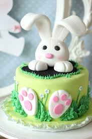 Buy Easter Cake Decorations by Easter Bunny Party By Mom2sofia Via Flickr Cake Art