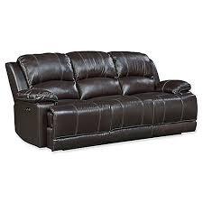 Motion Leather Sofa Standard Furniture Mfg Audubon Power Motion Leather Sofa In
