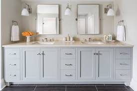 Pottery Barn Bathroom Vanities Grey Vanity Transitional Bathroom Benjamin