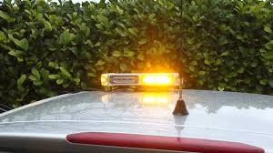 amber mini light bar spectrum mini led magnetic flashing amber recovery lightbar youtube
