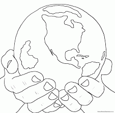 coloring download god created the world coloring page god