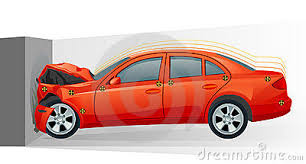 wrecked car clipart crash clipart wrecked car pencil and in color crash clipart