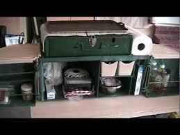 Portable Camping Kitchen Organizer - chuck box options youtube