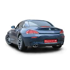 performance sport exhaust for z4 sdrive35is bmw e89 z4 35is