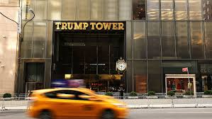 riot members stage trump tower protest hollywood reporter