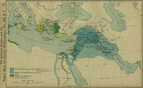 Ancient Middle East Map by Ancient Maps On Infilled Net