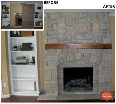 fireplace makeover services in st louis the color craftsmen