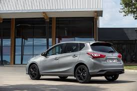 black nissan nissan pulsar becomes more stylish with new black edition