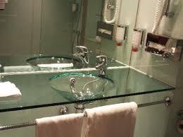 Glass Bathroom Sinks And Vanities Glass Bathroom Sinks Boxbrownie Co