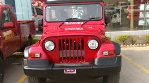 mahindra jeep 2016 mahindra thar crde 4x4 walkaround video youtube