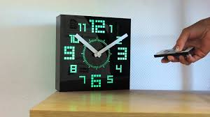 horloge party led couleurs changeantes youtube