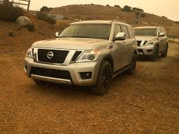 nissan armada 2017 redesign first drive patrolling for alternative routes in the 2017 nissan