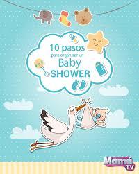 10 pasos para organizar un baby shower