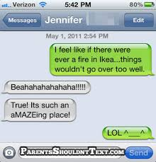 Funny Texting Jokes - corny joke parents shouldn t text