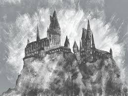 july 5th draw hogwarts sketchdaily