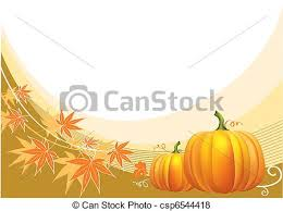 vector of thanksgiving background with pumpkins vector csp6544418